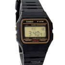 CASIO卡西歐 復古輕薄方型黑金設計多功能電子錶 休閒運動款式【NE1870】原廠公司貨