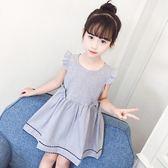 女童連衣裙2018新款韓版夏季洋氣夏裝公主寶寶裙子兒童3純棉2-8歲