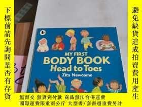 二手書博民逛書店MY罕見FIRST BODY BOOK Head to Toes[英文繪本]Y246305 見圖 見圖 ISB