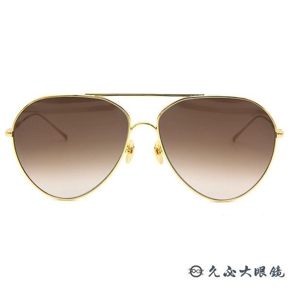 SUNDAY SOMEWHERE 太陽眼鏡 Ruben (金) 飛官 墨鏡 久必大眼鏡