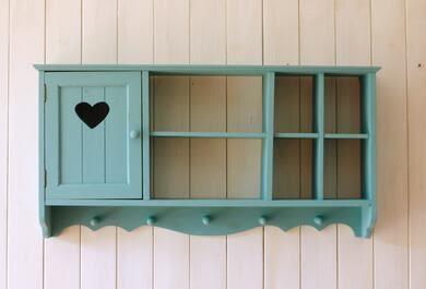 zakka鄉村田園復古地中海壁櫃吊櫃咖啡館裝飾收納置物架櫥櫃