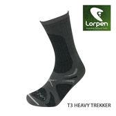 Lorpen T3 Primaloft美麗諾羊毛登山襪 T3EM(IV) / 城市綠洲(保暖、吸汗快乾、舒適、有氧、登山、西班牙)