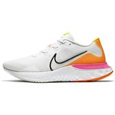 Nike Renew Run 男鞋 慢跑 休閒 避震 透氣 白 橘【運動世界】CK6357-100