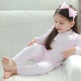 【Anny pepe】女童長褲 基本款素面粉