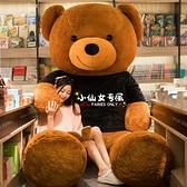 玩偶熊 玩具大熊公仔特大號超大布娃娃女生日禮物抱抱熊泰迪熊貓玩偶TW【快速出貨八折鉅惠】