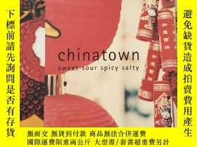 二手書博民逛書店chintown罕見sweet sour spicy salty