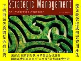 二手書博民逛書店Strategic罕見Management: An Integrated Approach-戰略管理:綜合方法