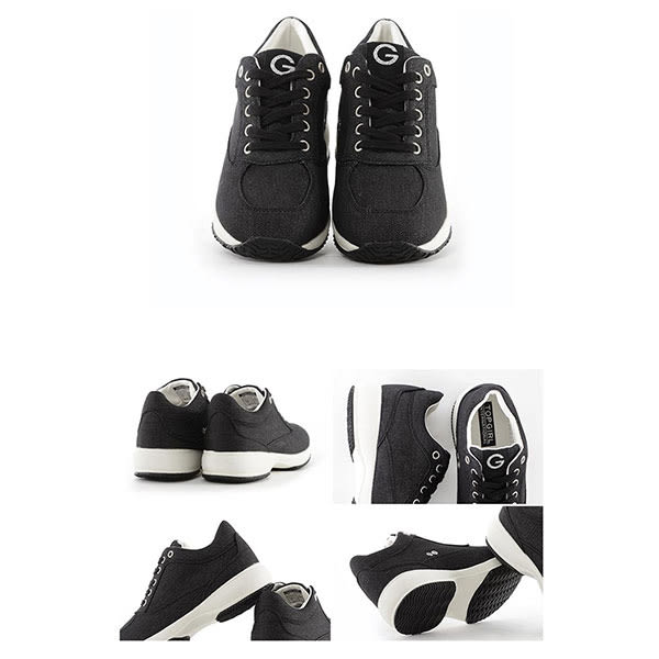 TOPGIRL  韓版運動休閒鞋-金屬黑