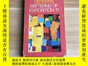 二手書博民逛書店Decker's罕見Patterns of Exposition
