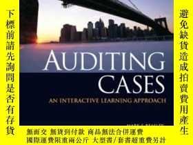 二手書博民逛書店Auditing罕見Cases: An Interactive