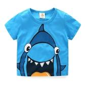 寶寶短袖T恤 夏裝新款韓版童裝男童女童兒童圓領上衣jh-0037 伊衫風尚