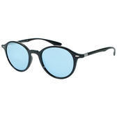 台灣原廠公司貨-【Ray-Ban 雷朋】4237F-601/30復古圓框雷朋太陽眼鏡/墨鏡(#玻璃鏡片-水銀鏡面)