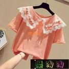 女童T恤短袖夏裝洋氣小女孩潮童裝夏季半袖韓版兒童上衣 樂淘淘