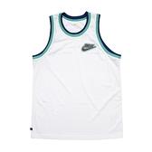 Nike 球衣 Giannis Freak Jerseys 白 綠 男款 球衣 字母哥 籃球 運動休閒【ACS】 DA5685-121