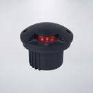 戶外防水地底燈 附LED8粒珠 單面透光 附預埋筒