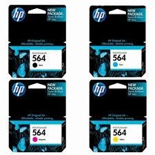 HP 564 原廠4色一般容量墨水匣組(1黑3彩)9600dpi(CB316WA/CB318WA/CB319WA/CB320WA)
