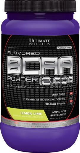 【線上體育】 ULTIMATE NUTRITION 支鏈胺基酸 12,000 Lemon lime 457g