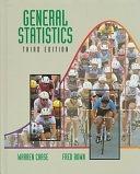 二手書博民逛書店 《General Statistics》 R2Y ISBN:0471055840│John Wiley & Sons Incorporated