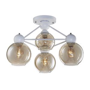 【大巨光】工業風3+1燈半吸頂燈-中(BM-20724)W560mmXH390mm