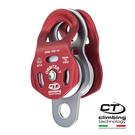 鋁合金滑輪2P662 Climbing Technology/城市綠洲(紅色、鋁合金、義大利製造)