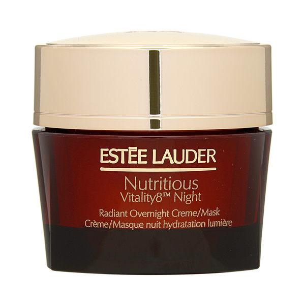 Estee Lauder 雅詩蘭黛 Nutritious Vitality8™ 超能紅石榴微循環晚安凝霜1.7oz, 50ml ~