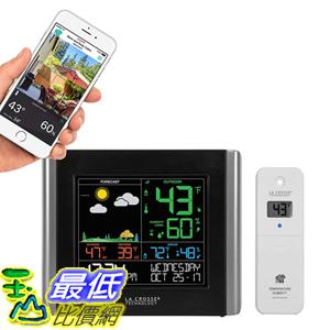 [8美國直購] La Crosse Technology V10-TH-INT V10-TH Wireless WiFi Weather Station