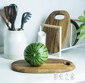 相思木實木菜板砧板面包板創意加厚案板占板 切菜板家用 DR12811【彩虹之家】