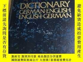 二手書博民逛書店Collins罕見German Dictionary Germa
