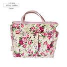 收納包-Rose玫瑰防水手提收納包/包中包-玄衣美舖
