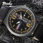 『潮段班』【SB000603】CHENXI 094A 運動手錶 夜光 防水 日曆 星期 石英錶 皮帶手錶