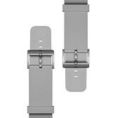 小米智能手表氟橡膠表帶原裝替換備用表帶多色可選科技銀典雅黑 宜品居家