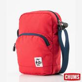 CHUMS 日本 Eco 長型側背肩背包 紅 CH602535R001