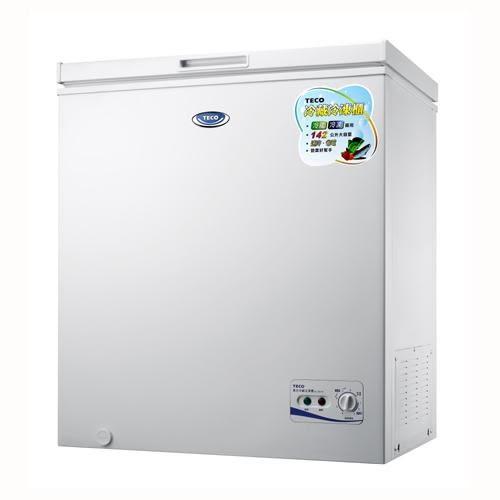 【TECO東元】142L單門上掀式冷凍櫃 RL1481W