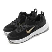 Nike 慢跑鞋 WearAllDay PS 黑 金 童鞋 大童鞋 基本款 運動鞋 【ACS】 CJ3817-005