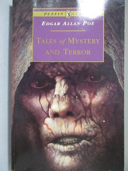 【書寶二手書T9/原文書_NRC】Tales of Mystery and Terror_Poe, Edgar Alla