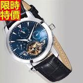 機械錶-潮流典型造型男腕錶4色5j75【巴黎精品】