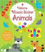 Mosaic Sticker Animals 拼貼貼紙書:動物篇
