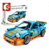 保時捷超級名跑車汽車模型機械成人益智拼裝組樂高積木玩具8摩托6 初色家居館