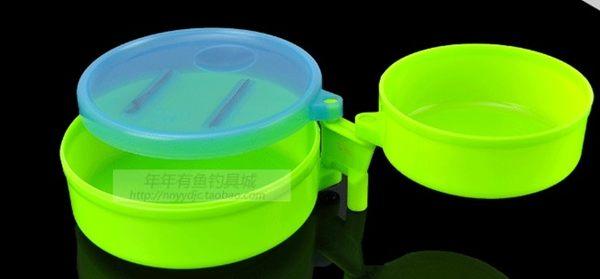 [協貿國際]  夜光拉餌盤套裝S型拉餌盆