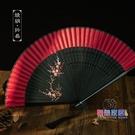 扇子 女式折扇舞蹈中國風漢服流蘇日式和風...