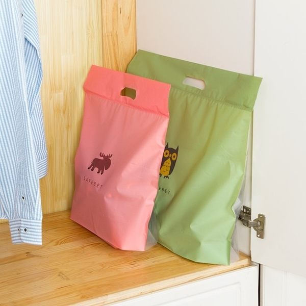 《SAFEBET》Q版卡通包包防水防塵收納袋(大)