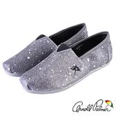 Arnold Palmer - 細緻耀眼亮片休閒懶人鞋 616-銀