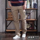 【JEEP】多口袋設計工作褲 (卡其)