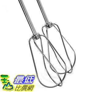 [美國直購] KitchenAid KHM2B 手持式攪拌器配件 Stainless Steel Turbo Beater Accessories