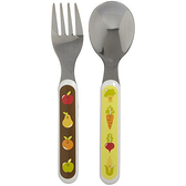 美國Sugarbooger Silverware Set 不鏽鋼叉匙組-我的果園(A898)