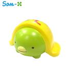 企鵝款【日本正版】角落生物 蛋包飯造型 捏捏吊飾 捏捏樂 軟軟 Squishy 角落小夥伴 San-X - 624529