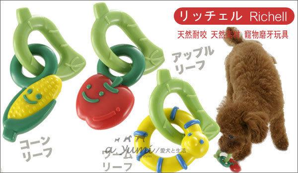 [寵樂子]《日本Richell》超耐咬磨牙/潔牙玩具[共三款]