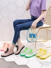 透明可愛成人短筒雨鞋女防水鞋防滑膠鞋套鞋韓國時尚款外穿雨靴夏 京都3C