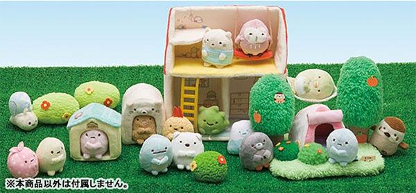 Hamee 日本正版 San-X 角落生物的家 絨毛玩偶 娃娃 野外傢具擺設 場景配件 (任選) MX23101