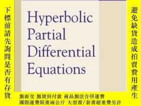 二手書博民逛書店Hyperbolic罕見Partial Differential Equations-雙曲型偏微分方程Y436